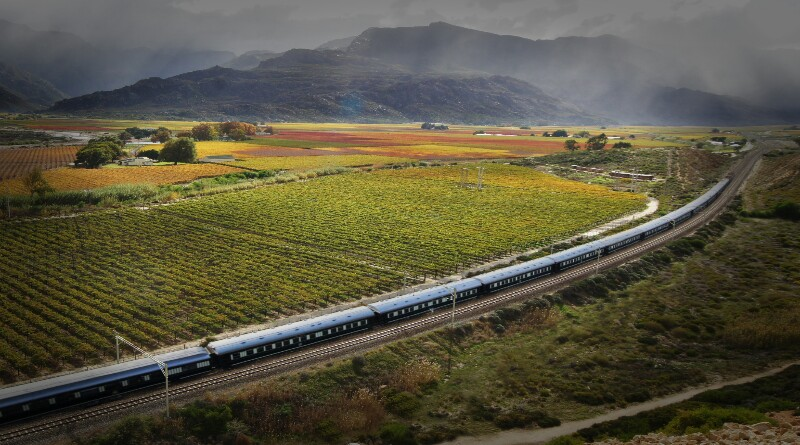 African Railway Adventure across Southern Africa on board the Shongololo Express.