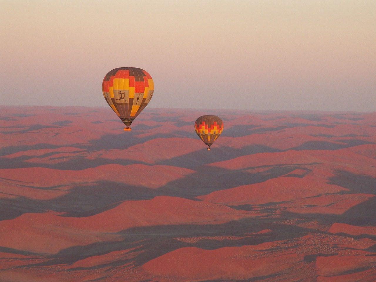 Hot Air Balloon Sossusvlei