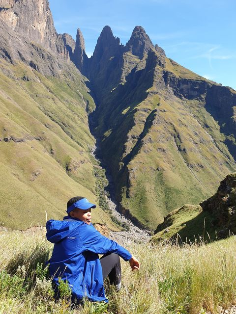 Mnweni  and rockeries pass